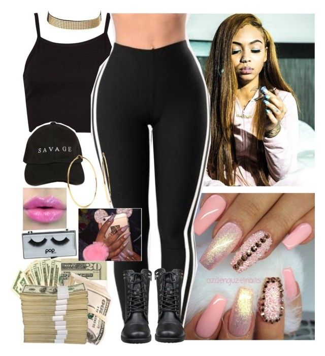 """""""//Washpoppin"""" by melaninmonroee ❤ liked on Polyvore featuring Charlotte Russe, POPbeauty and Nadri"""