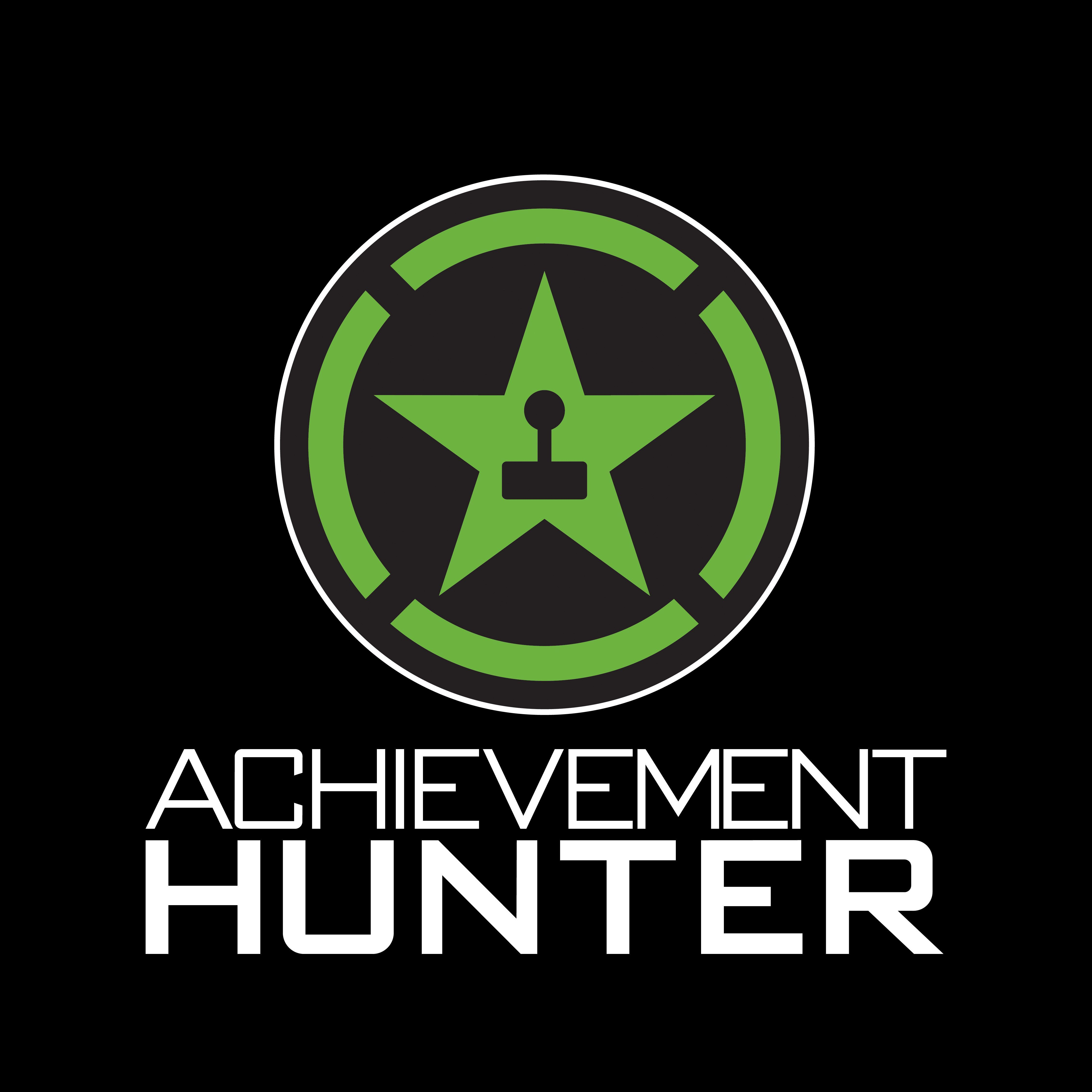 This is the logo for Achievement Hunter, a group of very