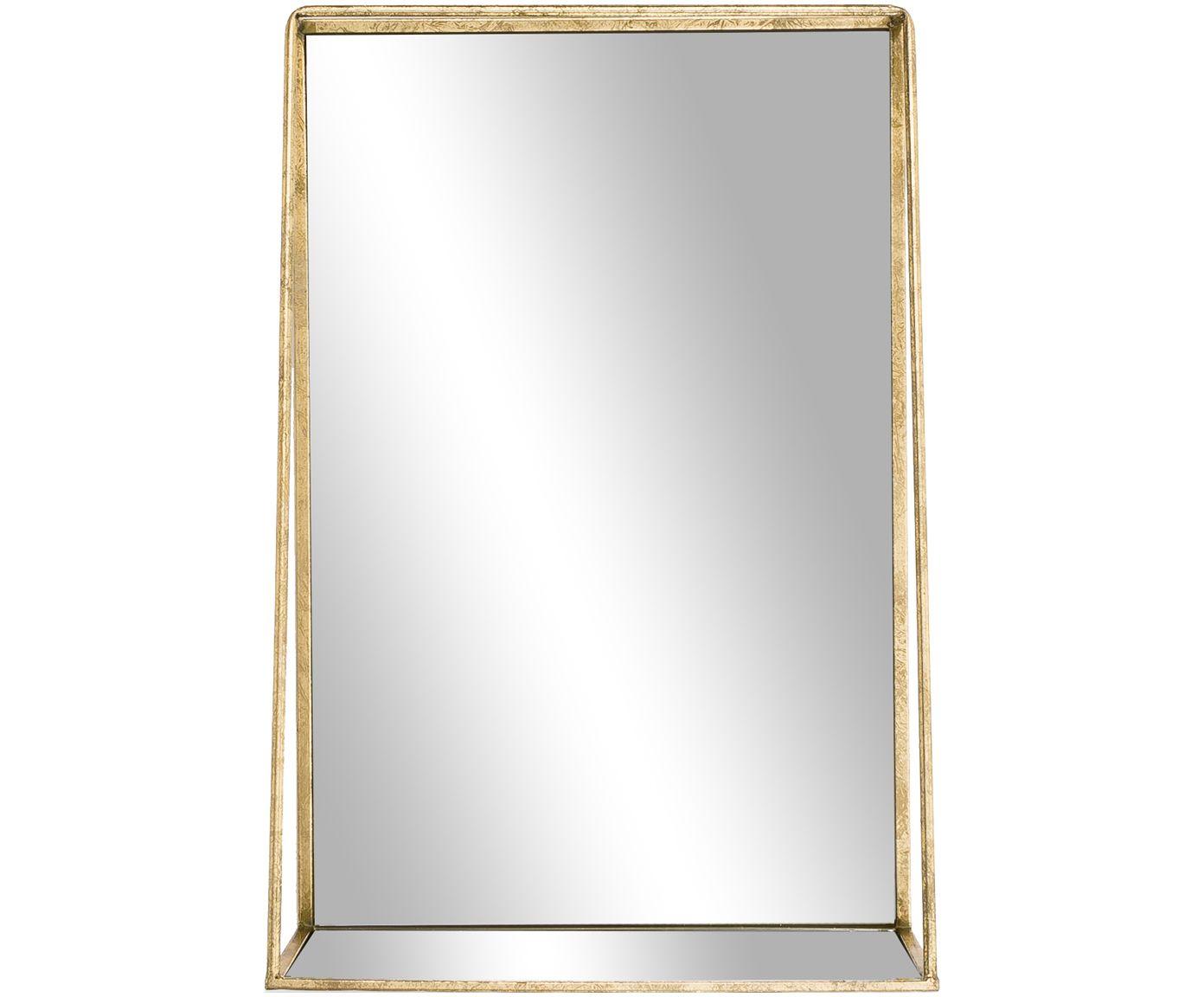 Wandspiegel Solina aus Metall in Gold   WestwingNow   Wandspiegel ...