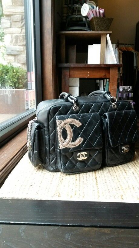 101c0592c18536 Chanel cambon reporter bag   Vintage Chanel Bags in 2019   Chanel ...