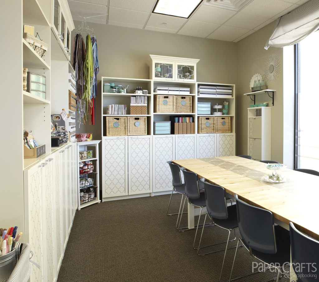 Paper Crafts & Scrapbooking room featured in Creative Spaces, Vol. 3 ...