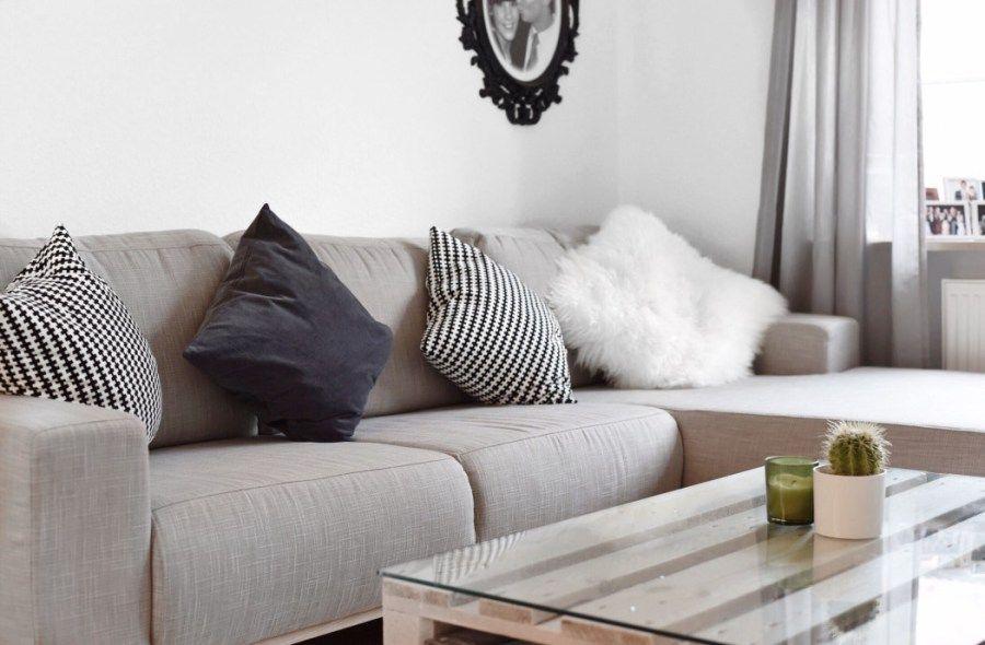 Tisch wohnzimmer ~ Contrast beistelltisch walnuss und orange made jetzt