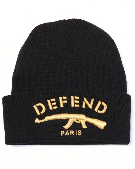 Defend Paris Signature Beanie -  Streetwear  Beanies   Streetwear ... ec476250580c