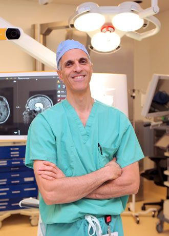 Dr  Souweidane's pediatric neurosurgery research lab at New