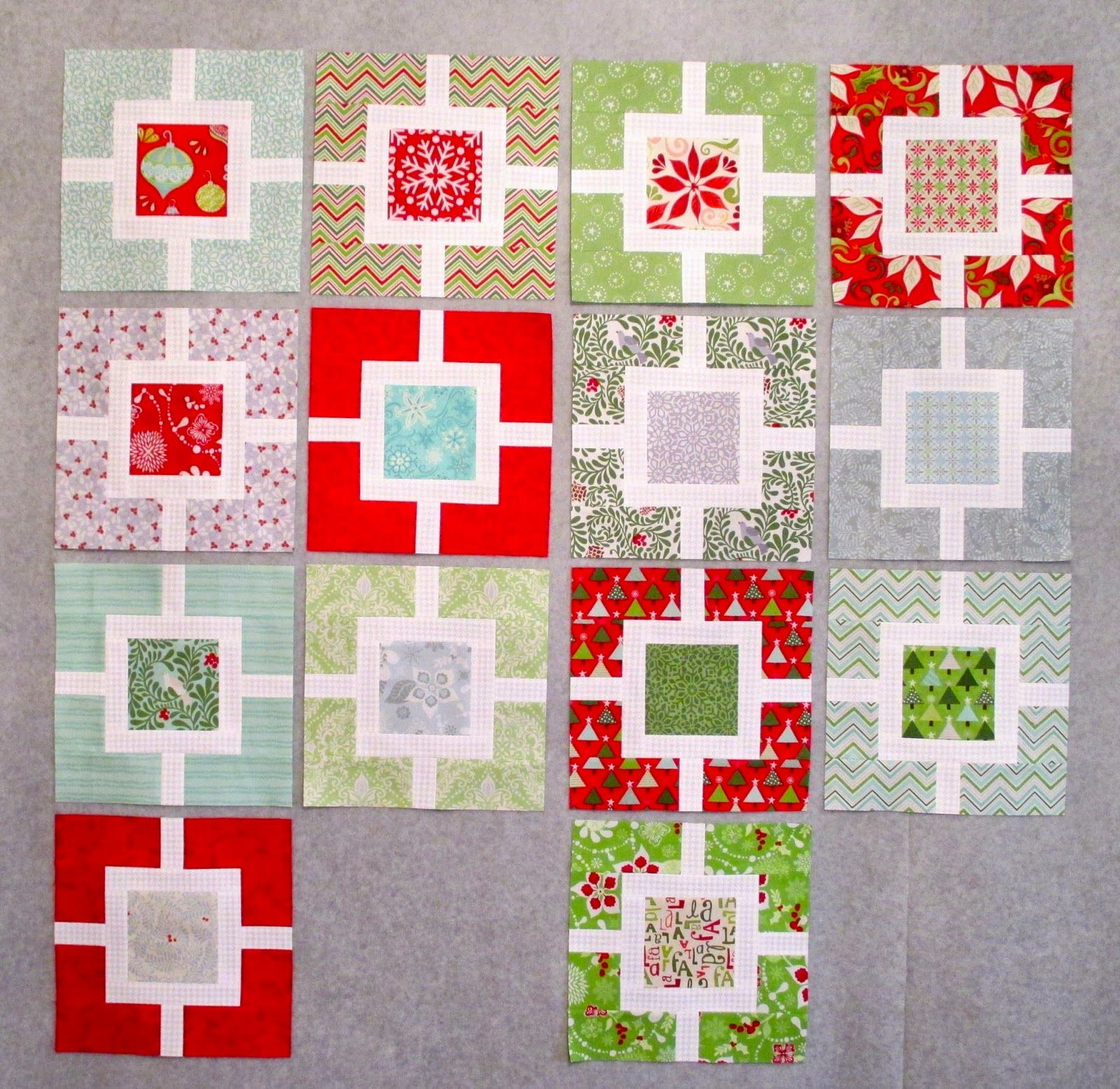 December Christmas Sewing