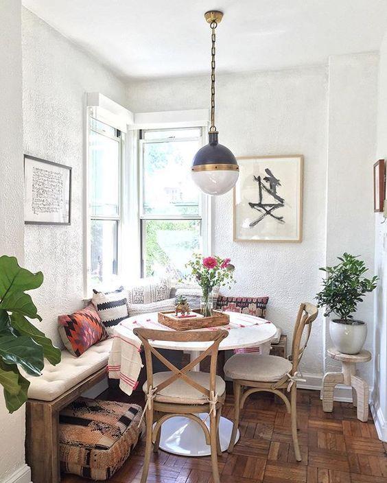10 Ways to Create a Cozy Breakfast Nook | Decoholic
