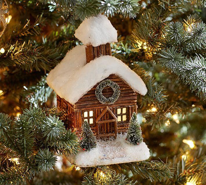 домики для елки фото