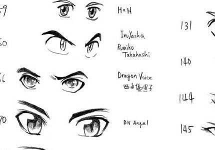 Anime Boy Eyes Download Wallpaper 430x300 for Wallpaper ...