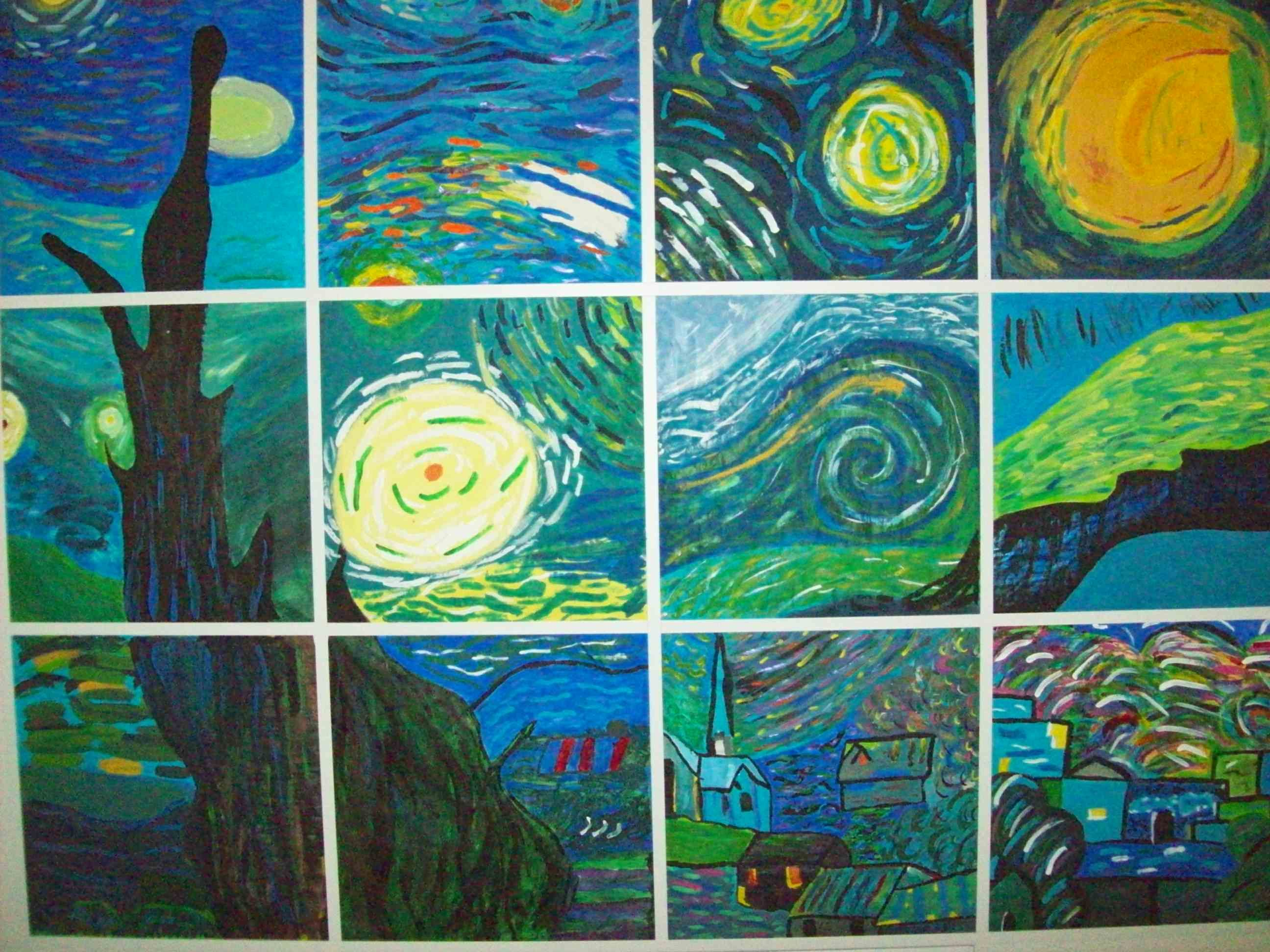 van gogh essay You have not saved any essays starry night vincent van gogh's starry night is a marvelous painting in which van gogh paints a picture that is colorful and descriptive this painting can be described as mysterious and intriguing it can signify a variety of moods, objects, and atmosphere van gogh.