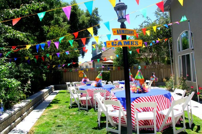 Circus Themed Table Decorations Part - 27: Event Design Company / Party Rental / Draping Circus Theme Kids Party