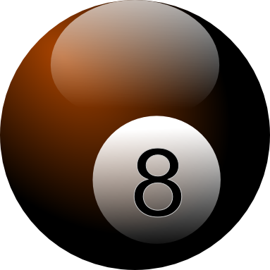 How To Make A Vector 8 Ball With Inkscape How To Make Vector Ball