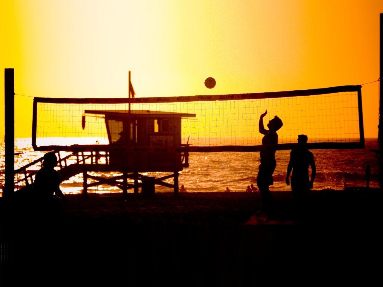 Beach Volleyball Manhattan Beach California Beach Volleyball Manhattan Beach