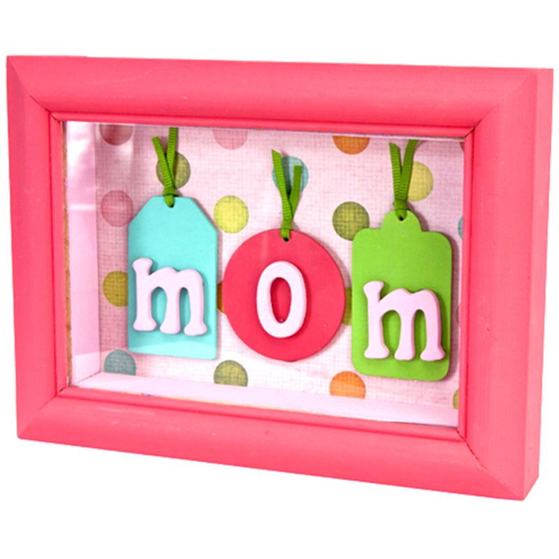DecoArt Mom Shadow Box #mothersday #mom #craft   Moore: Mother\'s Day ...