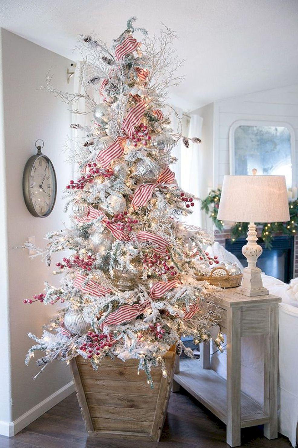 30 Festive Christmas Tree Decorating Ideas Christmas