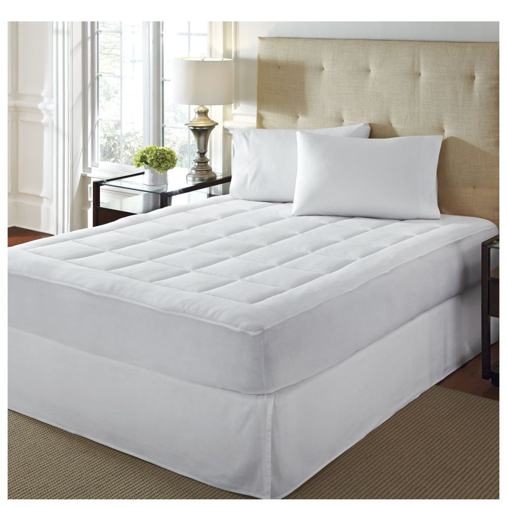 Microplush Mattress Pad Mattress pad, Mattress, King