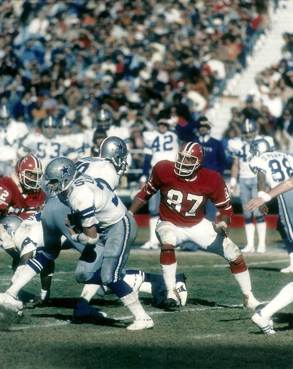 1976 Dallas Vs Atlanta The Falcons Won Nfl Uniforms American Football League Nfl History