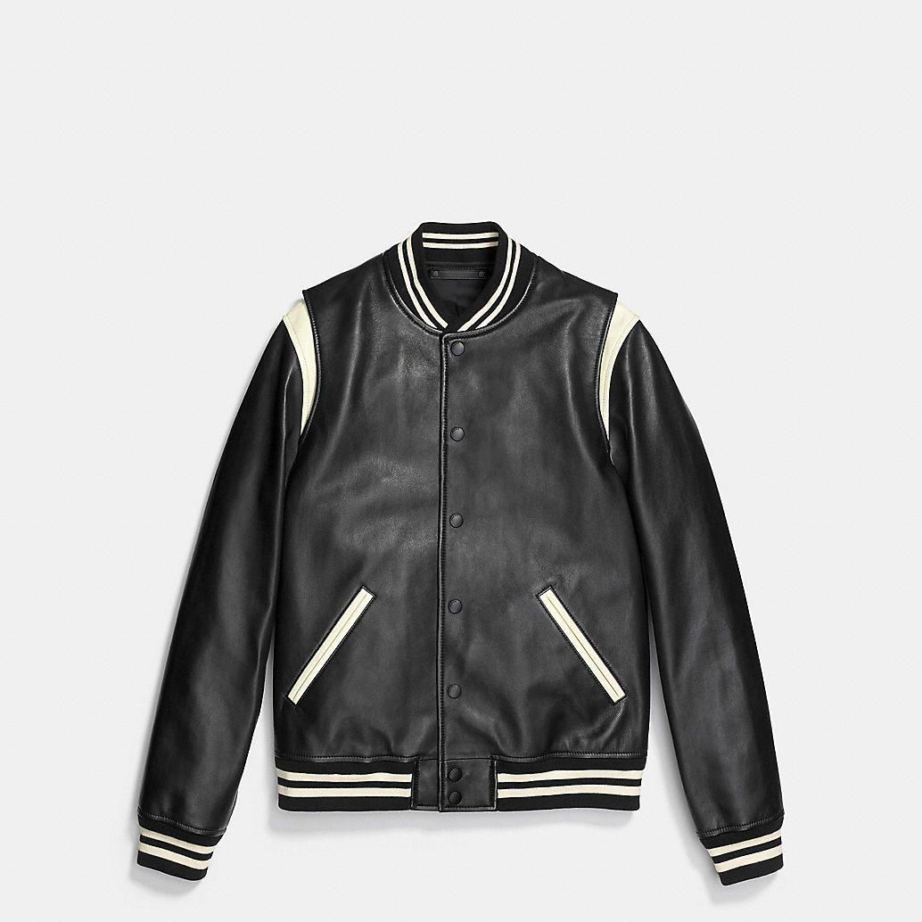 Leather Baseball Jacket Baseball Jacket Leather Baseball Jacket Leather Jacket Men [ 1034 x 1034 Pixel ]