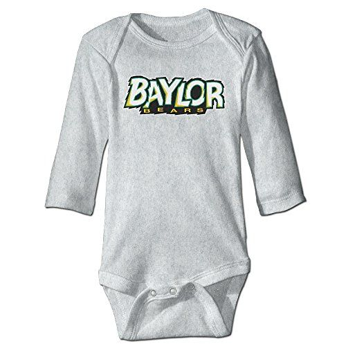 OOKOO Baby's Baylor University Bears Bodysuits Ash 18 Months -- Check this awesome image @