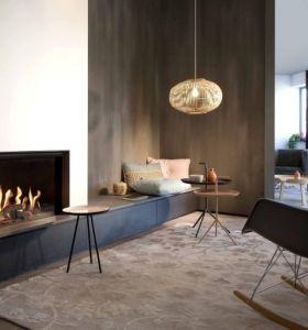 Dise o chimeneas modernas y 50 ideas para entrar en calor for Chimeneas de obra modernas