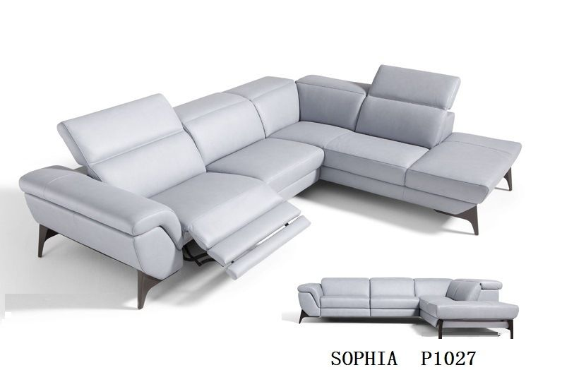 Hot Item Modern Living Room Sofa With Electric Recliner Sofa Leather Corner Modern Sofa Living Room Modern Sofa Sectional Luxury Sofa
