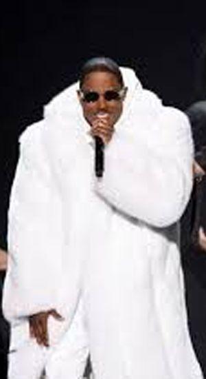 Cam Newton Silver Fox Fur Coat GQ Magazine 8453 | Total Visits 884 ...