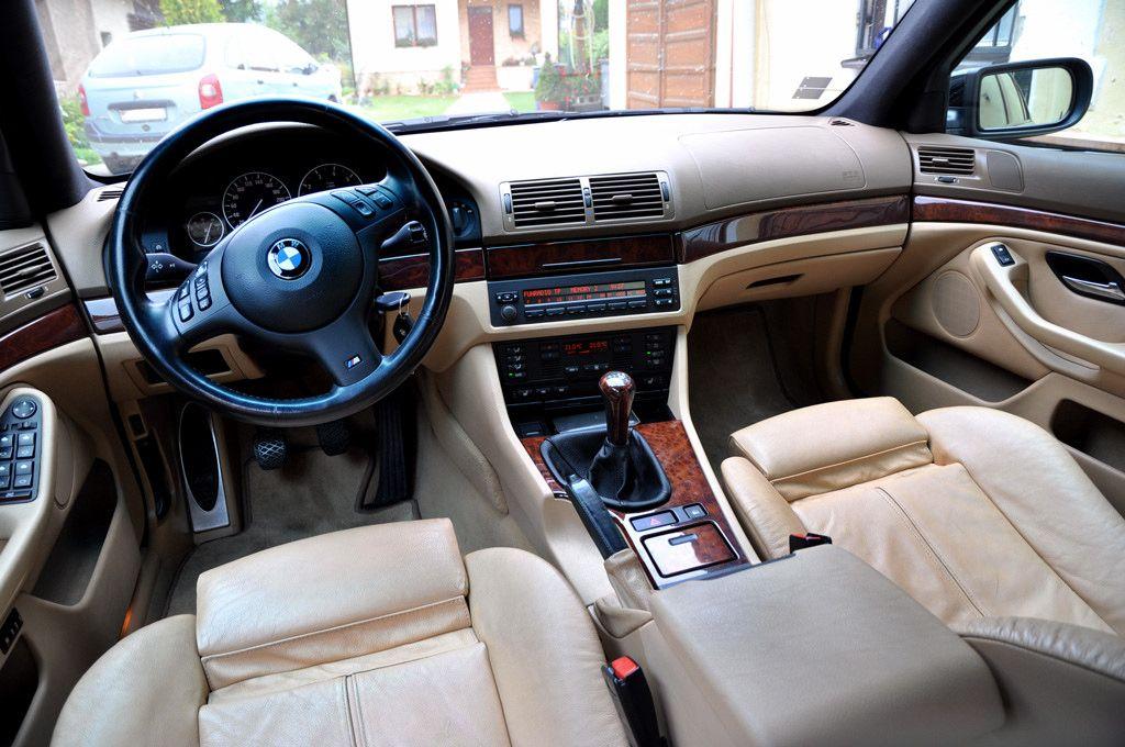 BMW E39 540i 6speed 2003 (With images)   Bmw e39, Bmw interior, Bmw