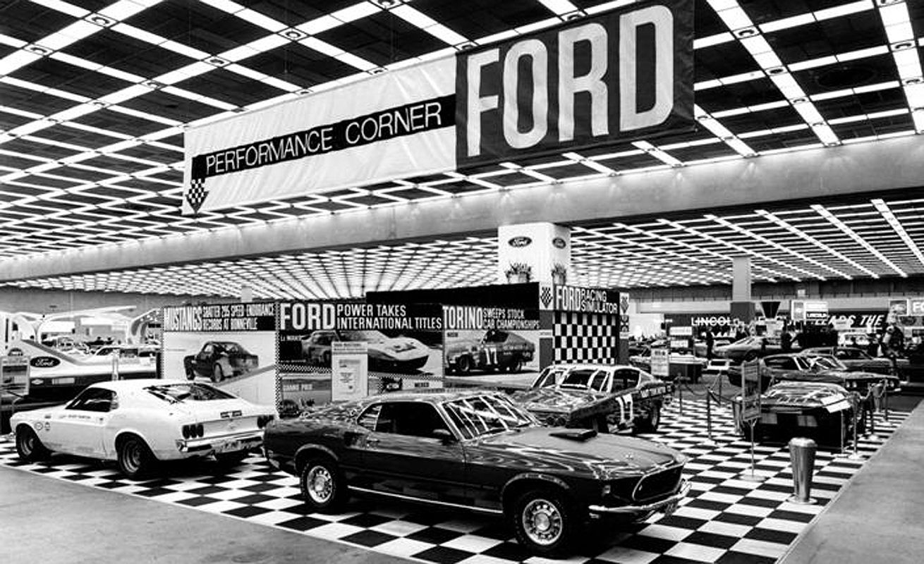 Detroit Auto Show 1968   1968   Pinterest   Detroit, Mustang and Ford