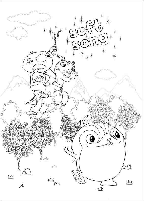 Wallykazam Coloring Pages 9 | Coloring pages for kids | Pinterest ...