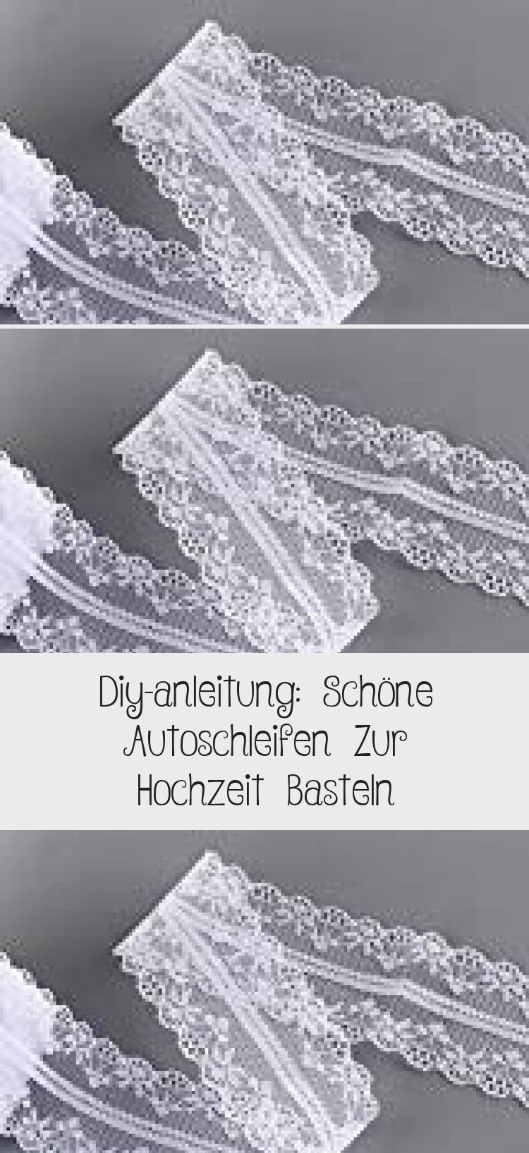 Diy Anleitung Schone Autoschleifen Zur Hochzeit Basteln