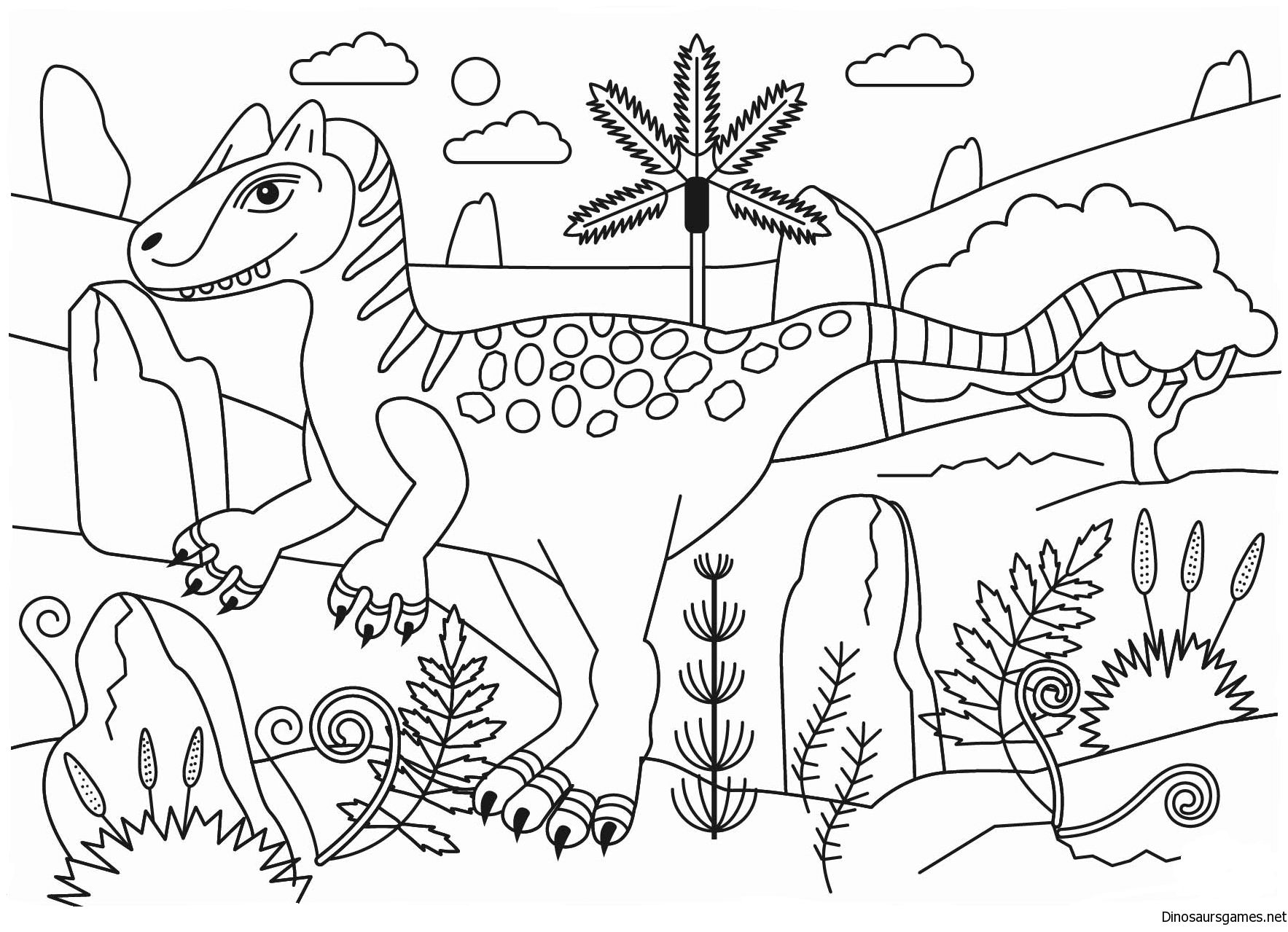 Jurassic World Coloring Pages Allosaurus Jurassic Dinosaur Coloring Page Dinosaur Coloring Pages Dinosaur Coloring Disney Coloring Pages