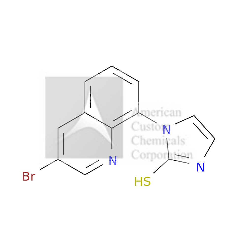 1-(3-BROMOQUINOLIN-8-YL)-1H-IMIDAZOLE-2-THIOL is now  available at ACC Corporation