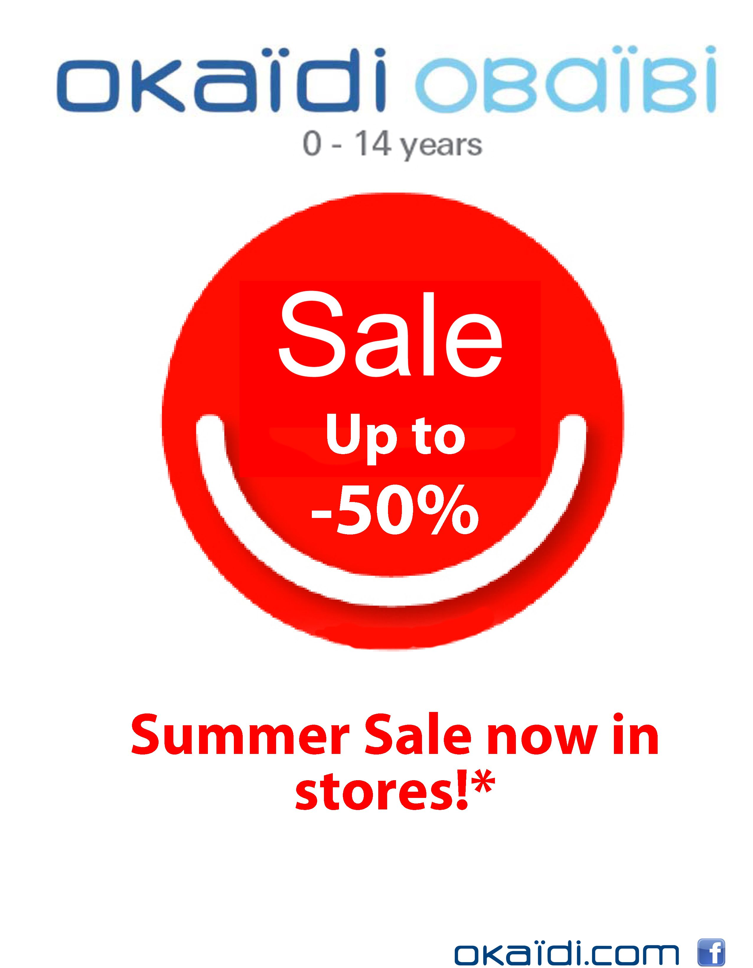 Okaidi Summer Sales Now In Stores Great Offers Upto 50 Off At