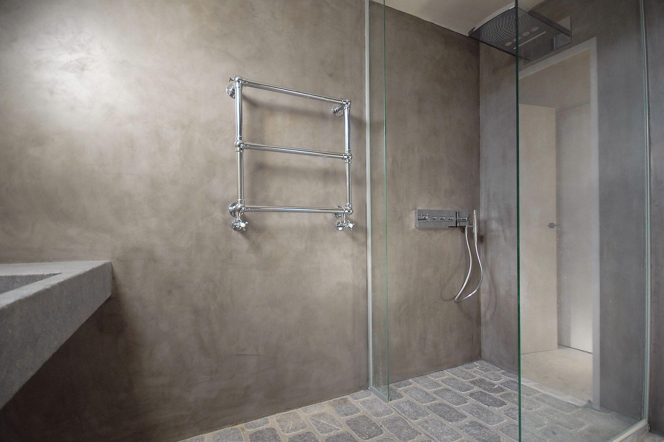 Stuc deco, Stoopen&Meeus, betonlook, tadelakt, beton cire look ...