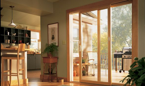 Anderson Narroline Gliding Patio Door