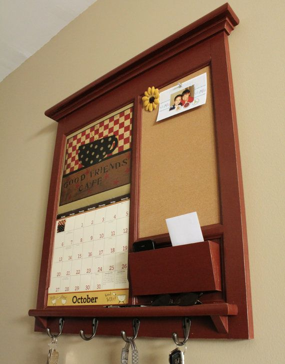 Wall Calendar Frame Front Loading Home Decor Framed By Rozemake