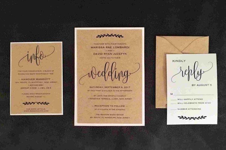 Homemade Wedding Invitations Homemade Invitations Ideas With