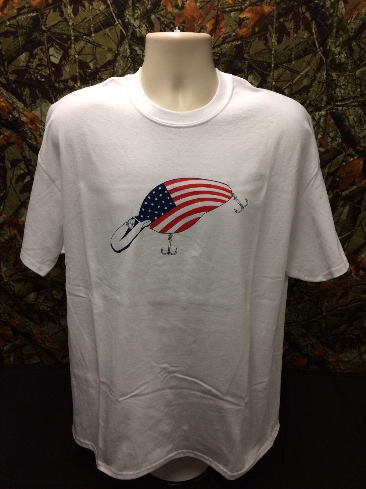 Download American Flag Crankbait T-Shirt. #tshirt #apparel #fishing ...