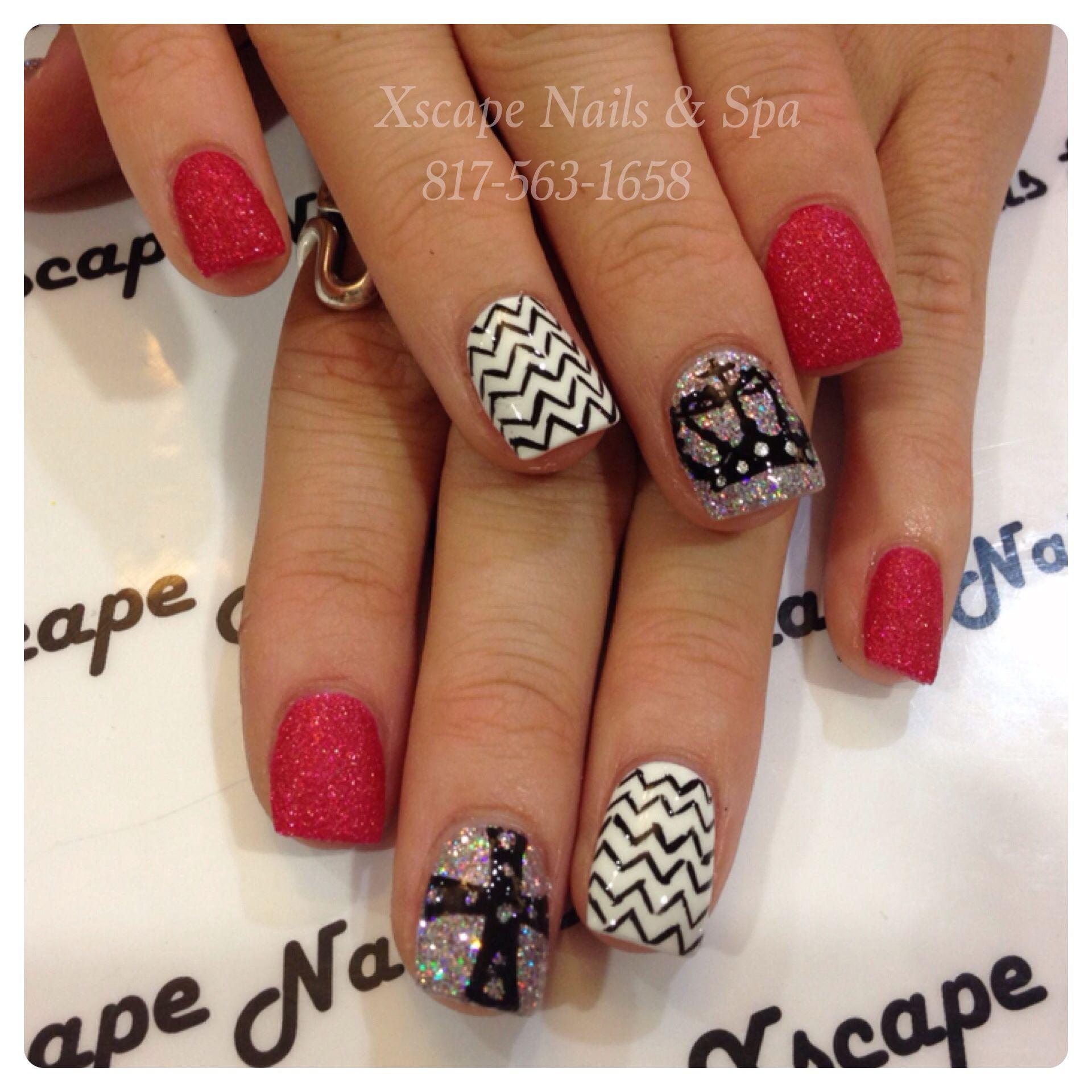 Crown/Cross nail designs   Nails   Pinterest   Cross nail designs ...