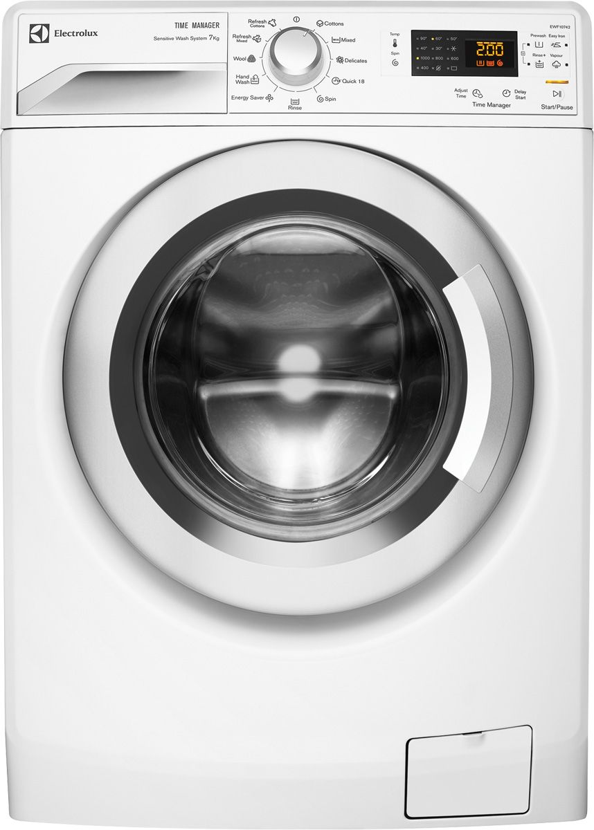 7kg front load electrolux washing machine ewf14742 mark unit rh pinterest com Electrolux Washer and Dryer Dimensions Electrolux Dryer Model Numbers