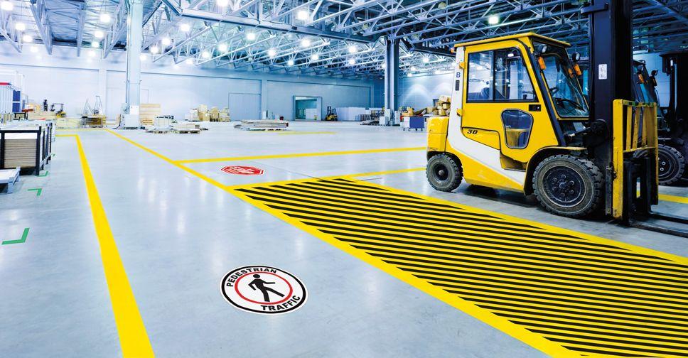 Industrial Floor Tape Vs Floor Paint Great Safety