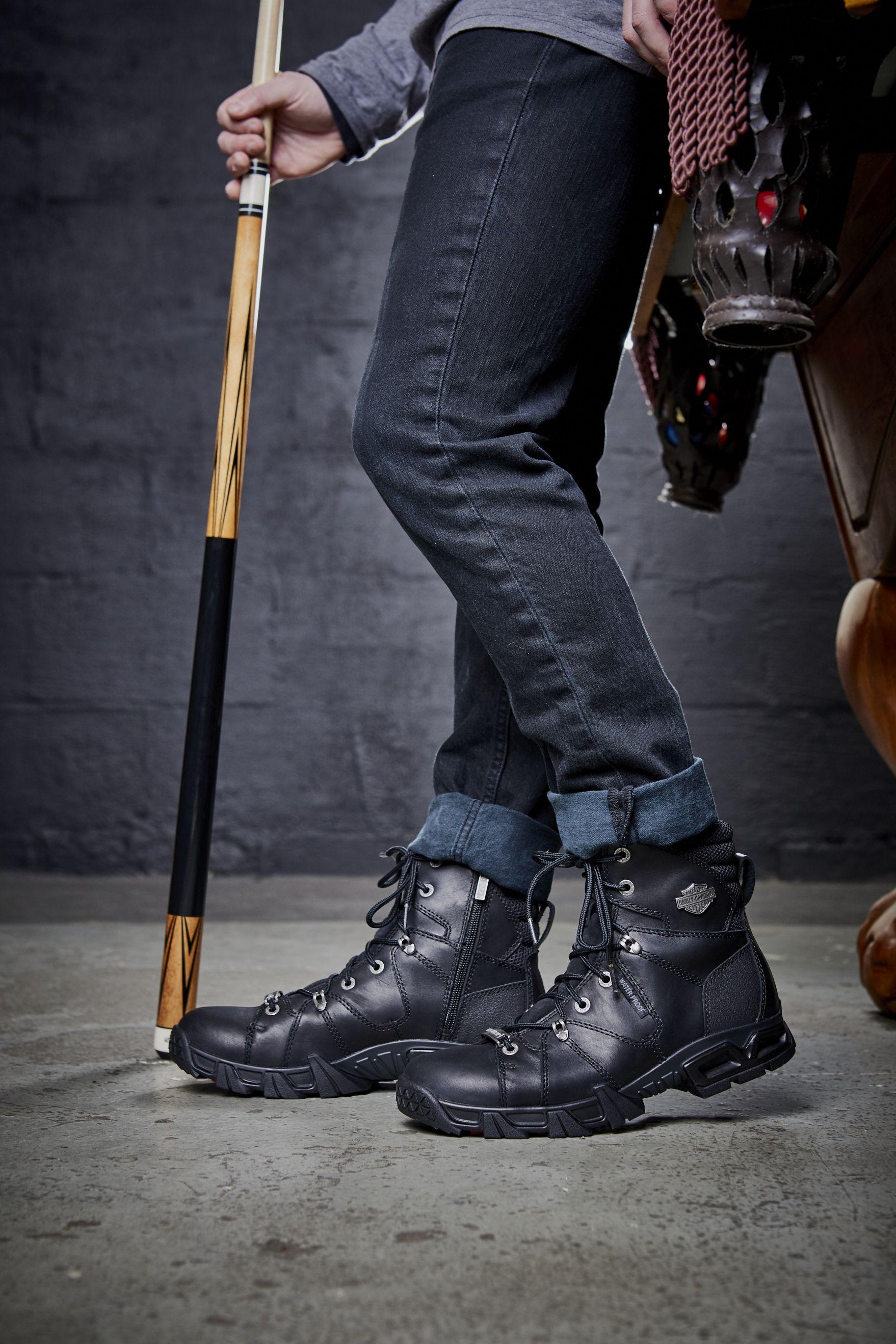 Men S Roberts Boot Harley Davidson Dealership Men Men S Collection