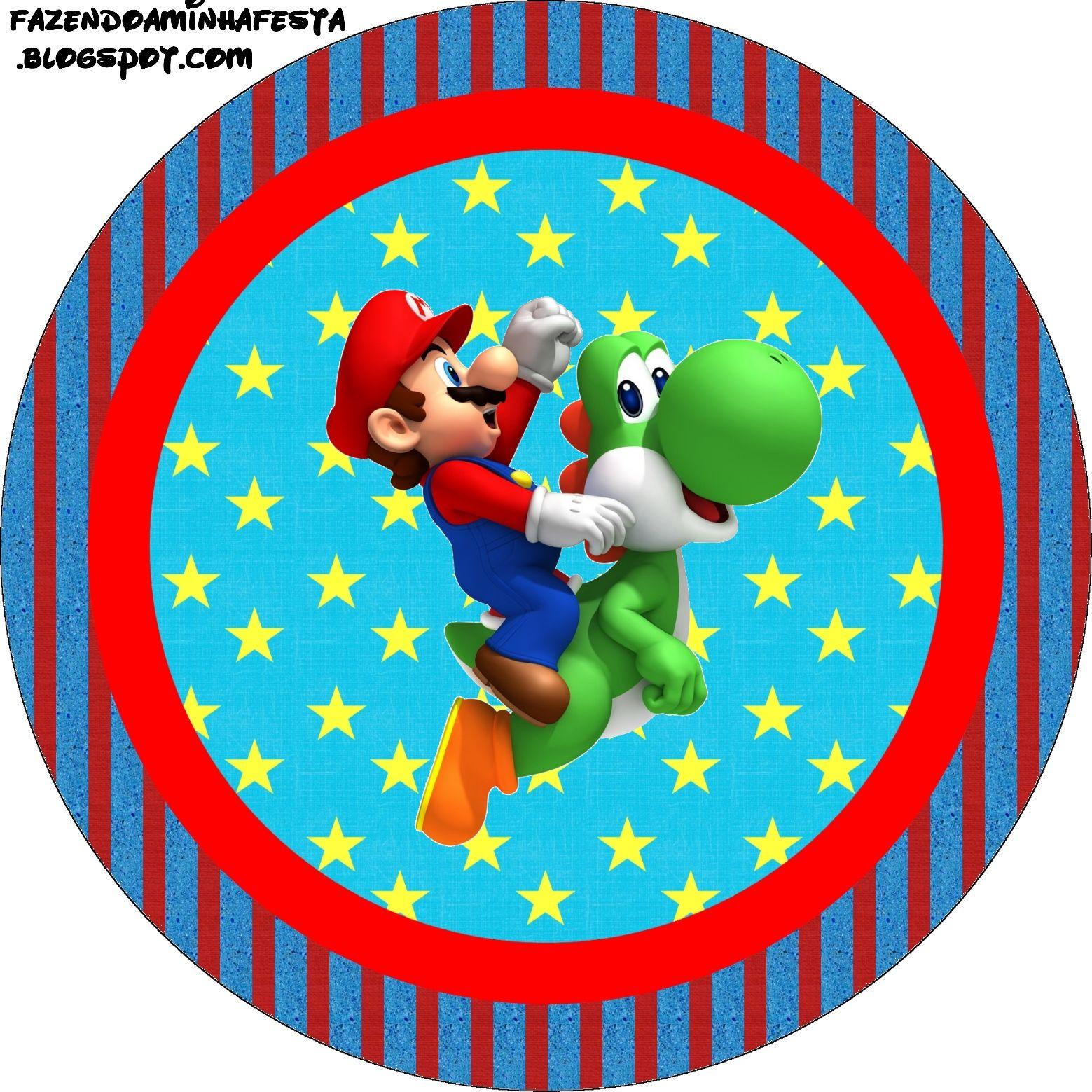 Imprimibles de Super Mario Bros. | Ideas y material gratis para ...