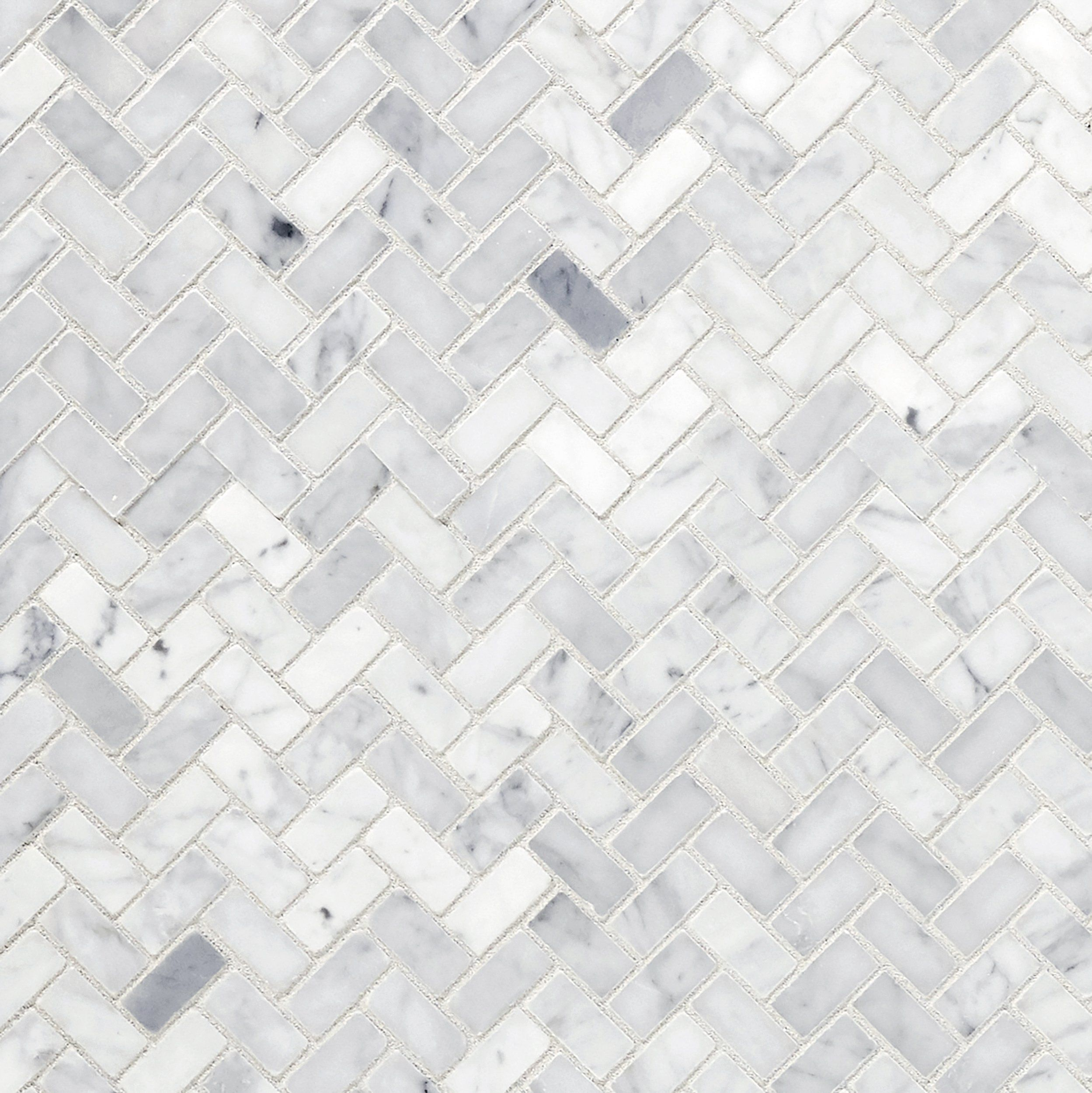 Carrara white honed marble tile in 2020 marble mosaic
