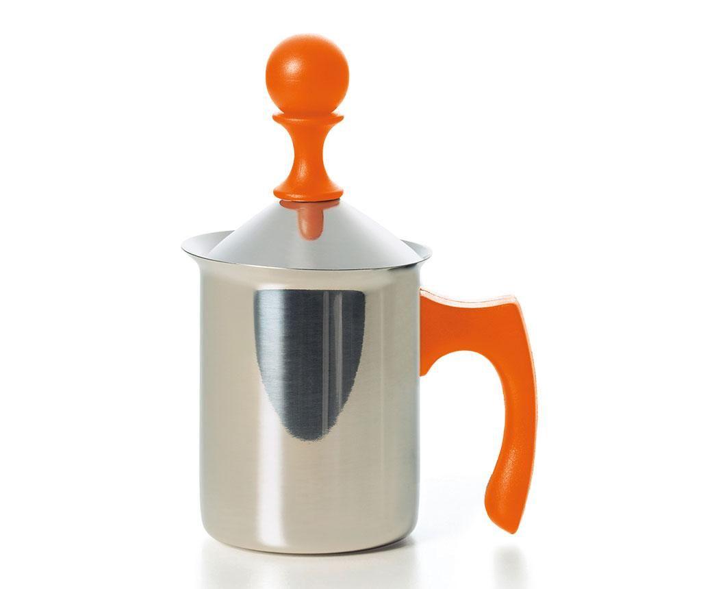 Kettle with lid Creamer Orange 400 ml