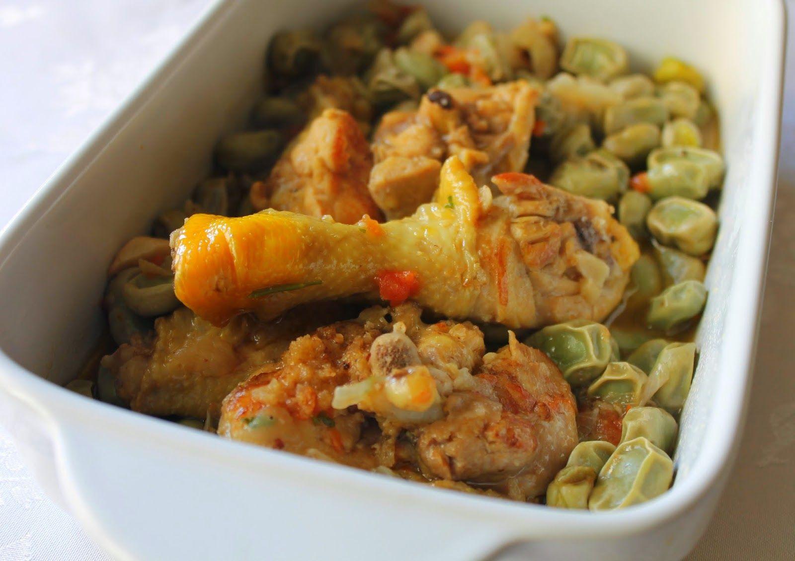 Las Recetas de Maria: Guiso de pollo con habas