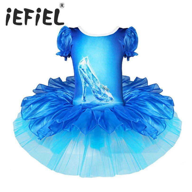 Kid Minnie Princess Sofia Little Baby Girls Blue Dress Veil Ruffle Tutu Costume