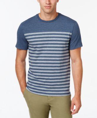 TOMMY HILFIGER Tommy Hilfiger Men's Sandbar Stripe T-Shirt . #tommyhilfiger #cloth #shirts