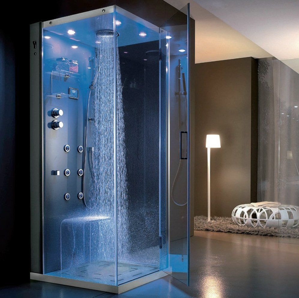 Hafro Tempo Angolo Multifunction Shower Cabin | Shower cabin ...