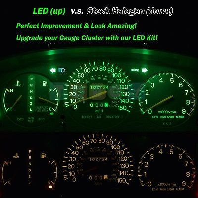 Details about White LED Package Kit Panel Cluster Dash Bulbs