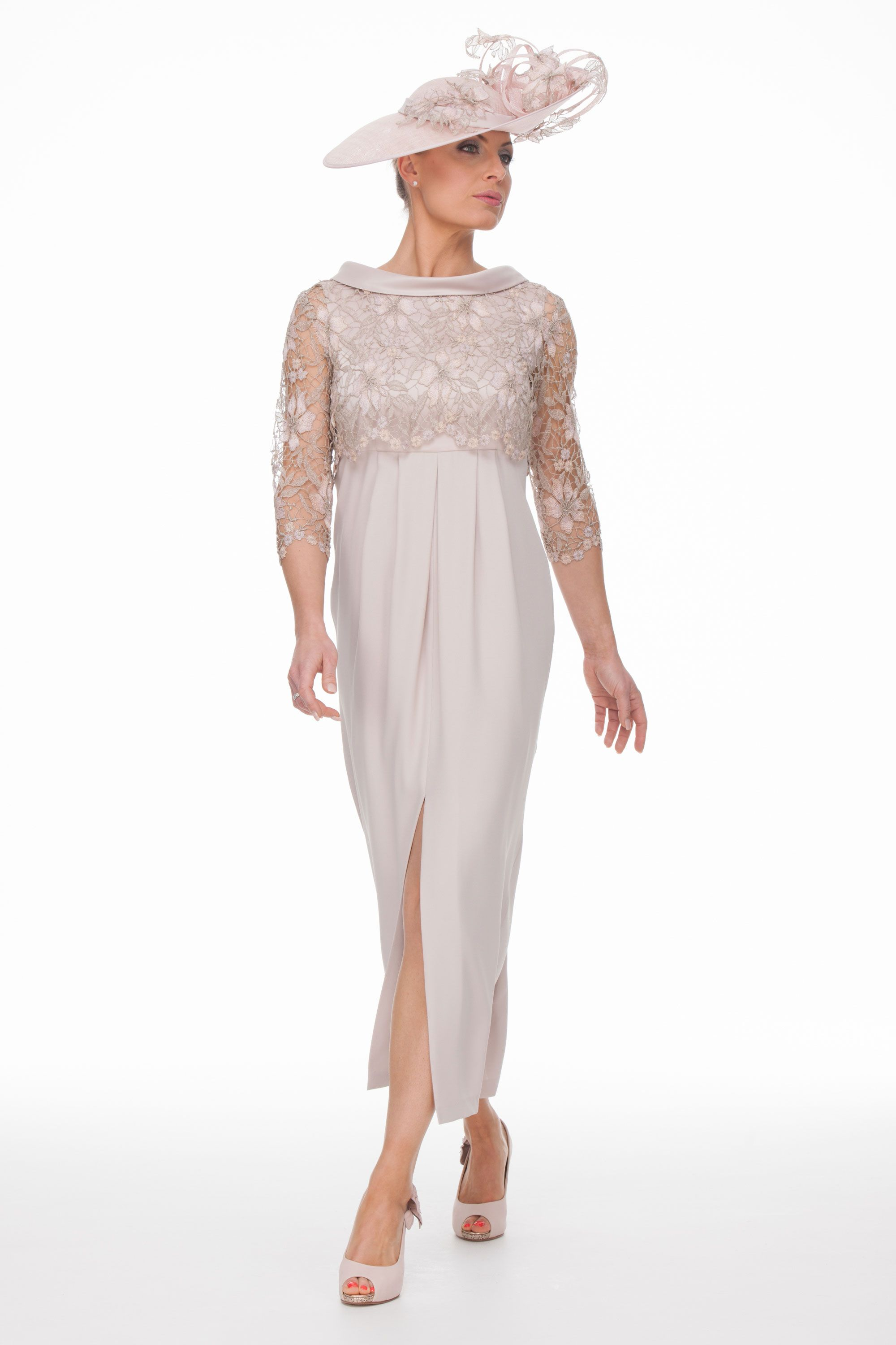 Ankle Length Dress And Guipure Top | Joyce Young | Wedding 2 by ...